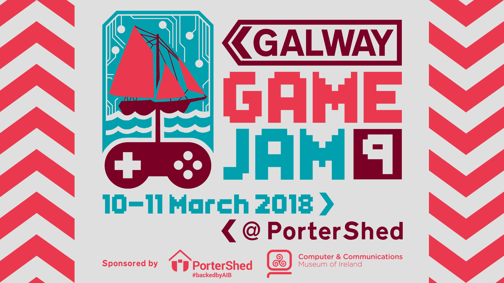 Galway Game Jam 9 Poster