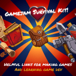Darren's Game Jam Survival Kit (Fantasty art assets by Ravenmore, http://dycha.net, from opengameart.org)