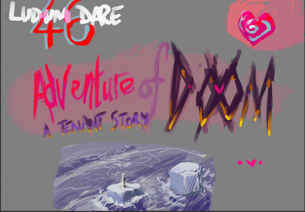 Ludum Dare 46 - Keep It Alive - Mind Cauldron game concept Possible title for the game. I like the colours #ldjam46